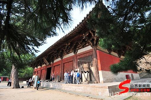 唐代建筑的翘楚 五台山佛光寺